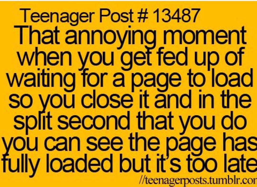 OMG this happens to me all the F_ucking time_ It's…